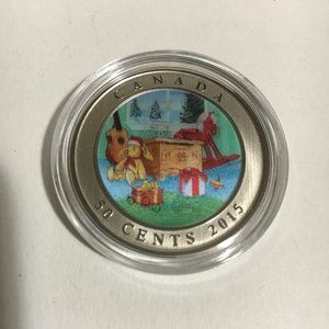 Coin 2015 5-Cent Holiday Toy Box